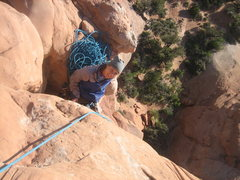 Rock Climbing Photo: Belay ledge
