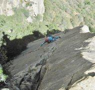 Rock Climbing Photo: Z. Harrison on P3
