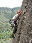 Rock Climbing Photo: No hands feature switch tricks.