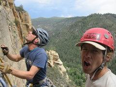Rock Climbing Photo: Gnarl mode.