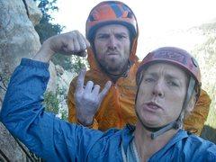 Rock Climbing Photo: Brawn and Burl