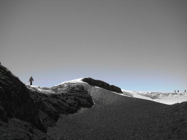 Volcano climb (Volcan Villarrica) in Patagonia