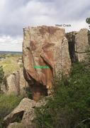 Rock Climbing Photo: Nemesis Tower, West Face.