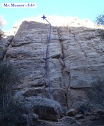 Rock Climbing Photo: Mr. Meanor (March 2014)