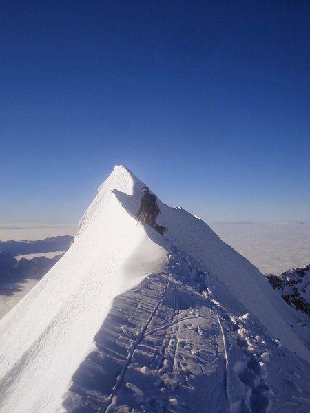 Rock Climbing Photo: Mt Cook. NZ
