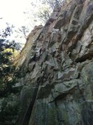 "Rock Climbing Photo: Side View of ""You Can't Beat Me"", Start ..."