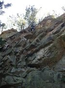 "Rock Climbing Photo: Topping Out ""You Cant Beat Me"""