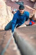 Rock Climbing Photo: Supercrack of the desert  Copyright: hunterimagery...