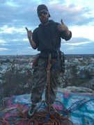 Rock Climbing Photo: On top!!!
