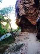 Rock Climbing Photo: Bright Angel Cave!