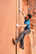 Rock Climbing Photo: Flakes of Wrath direct  Copyright: hunterimagery.c...