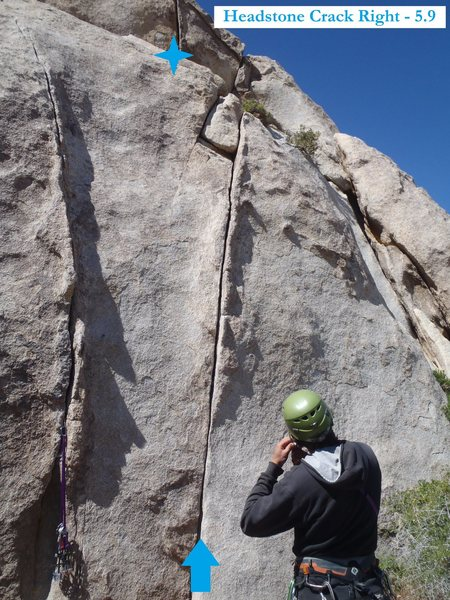 Headstone Crack Right (May 2011)