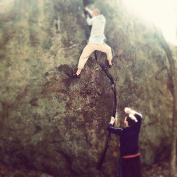 Rock Climbing Photo: Pawtuckaway nh