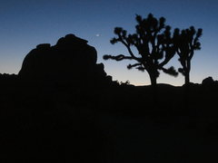 Rock Climbing Photo: Intersection rock, taken from the camps below Chim...