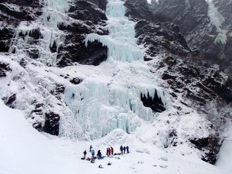 Valdez Ice Climbing Festival 2014