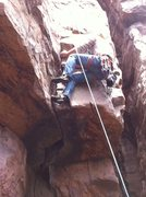 Rock Climbing Photo: fun moves to pull roof
