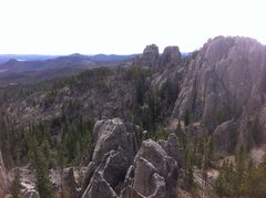 Rock Climbing Photo: what a beautiful view from the top