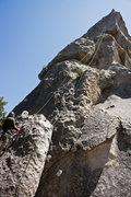 Rock Climbing Photo: Messing around
