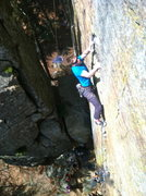 Rock Climbing Photo: Great route with great gear!