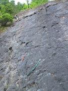 Rock Climbing Photo: Getting ready to rap off.