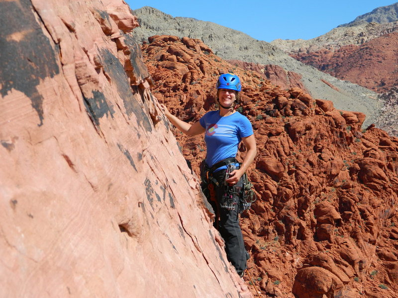 Rock Climbing Photo: Please let this friendly woman from NJ know her ph...