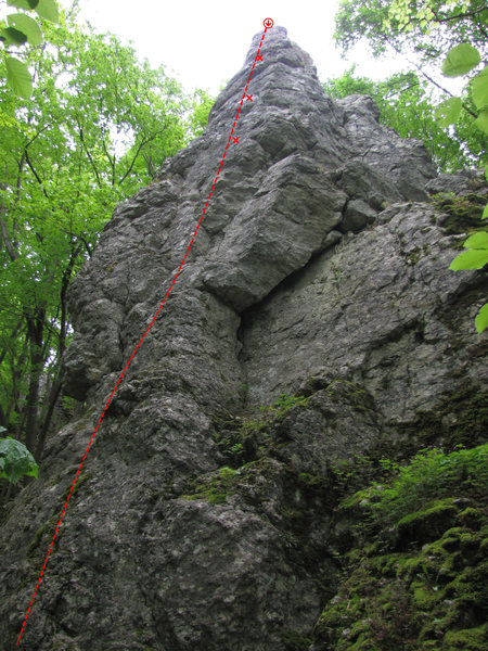 Rock Climbing Photo: Talseite