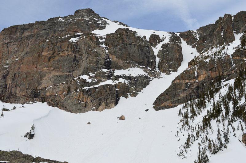 Rock Climbing Photo: Elevator Shaft, Hallett.