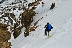 Rock Climbing Photo: Pretty sweet ski descent.