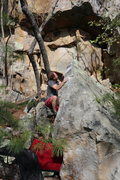 Rock Climbing Photo: Shawn McCauley sending Bozoo Slow Hand SDS
