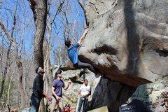 Rock Climbing Photo: Nick sending Heart Attack Jack