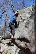 Rock Climbing Photo: Nick Haverlo sending
