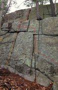 Rock Climbing Photo: Adventures with K&E.