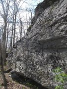 Rock Climbing Photo: The slab side of the Buffalo