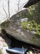 Rock Climbing Photo: Buffalo Soldier. Very low in the photo the thin, l...