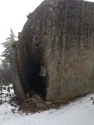 Rock Climbing Photo: Fire damage caused by local Idyllwild punks