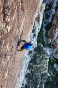 Rock Climbing Photo: Rock Warrior. Belay on top of the 2nd pitch. April...