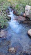 Rock Climbing Photo: Tuttle Creek, running well after a Spring Storm.