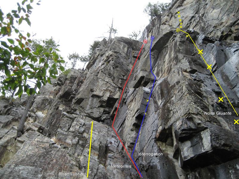 Rock Climbing Photo: upper corner