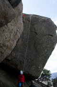 Rock Climbing Photo: Little dudes TRing Frigid Air.