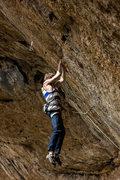 Rock Climbing Photo: Top notch footwork