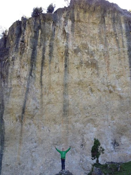 Psyched after Olatz, my first 14a<br> Valdegovia