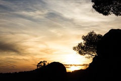 Rock Climbing Photo: Sunset in Margalef