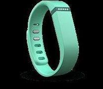 teal fitbit wristband