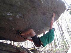 Rock Climbing Photo: Jay John working toward the 2nd ascent of Dorothy,...