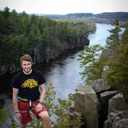 Rock Climbing Photo: MN Side of Interstate Park