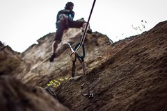 Rock Climbing Photo: Its a rare thing to see someone on this route and ...