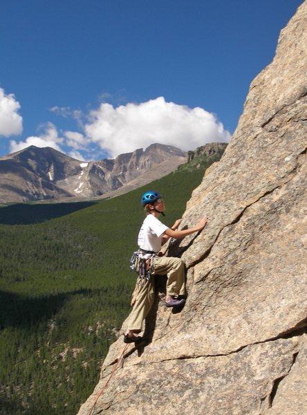 My son Tristan leading Coloradoddity.