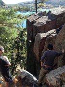 Rock Climbing Photo: Ontop of the Pantry