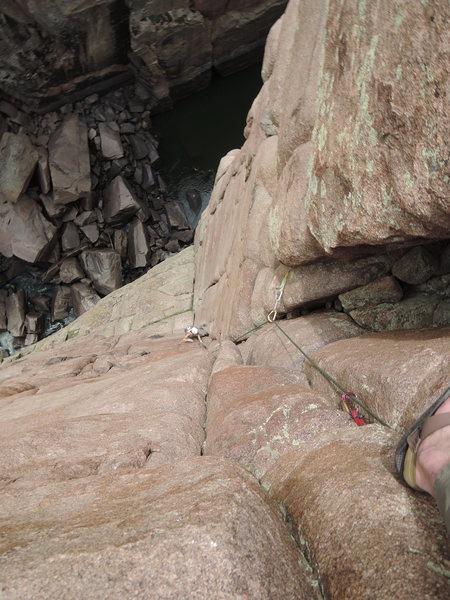 Rock Climbing Photo: Thanatos