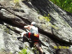 Rock Climbing Photo: Squeeze my Lemon